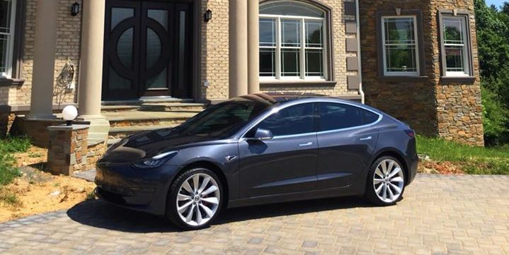 Our First Tesla Model 3