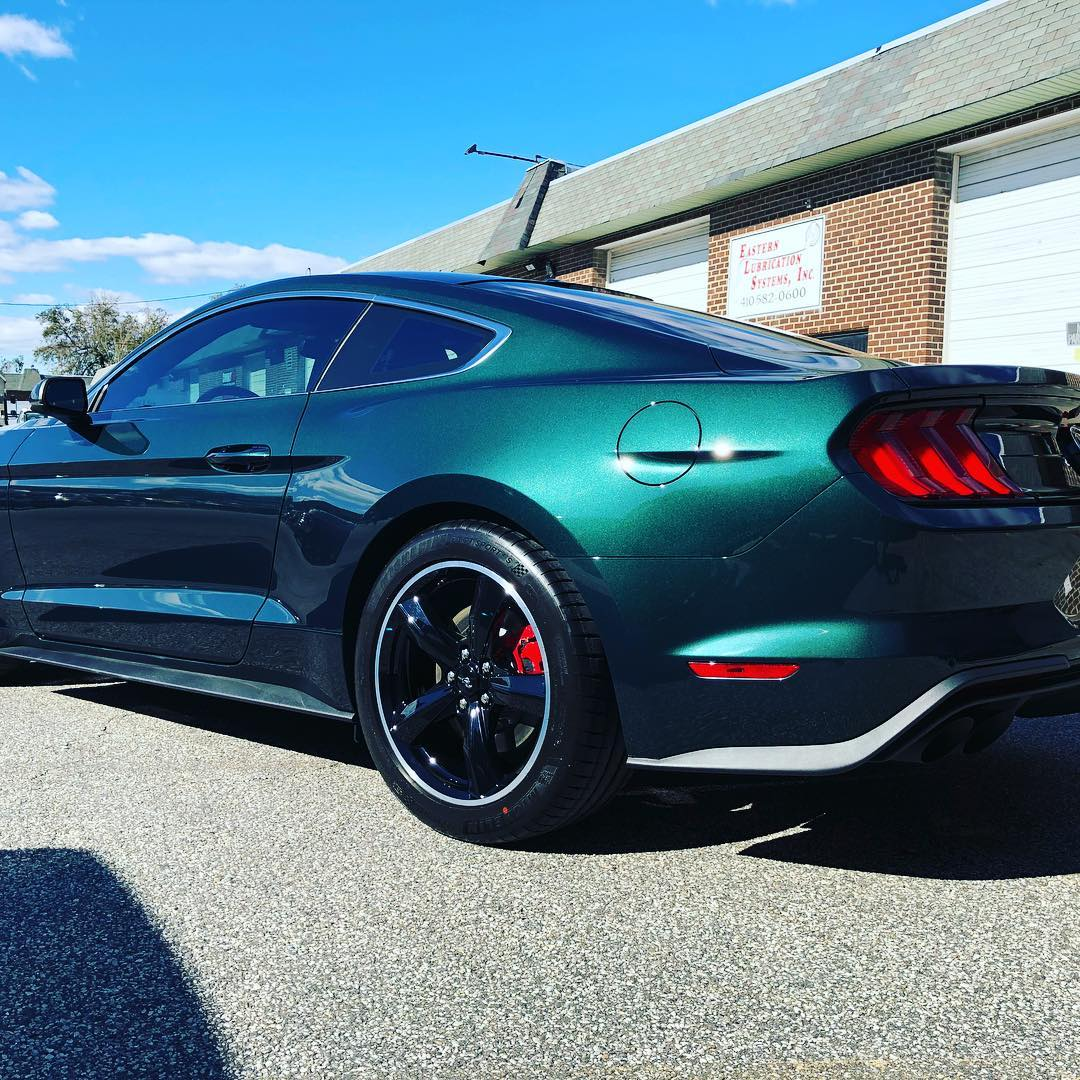 2019 Mustang Bullitt Full 3m Ppf Pro Wrap And 3m