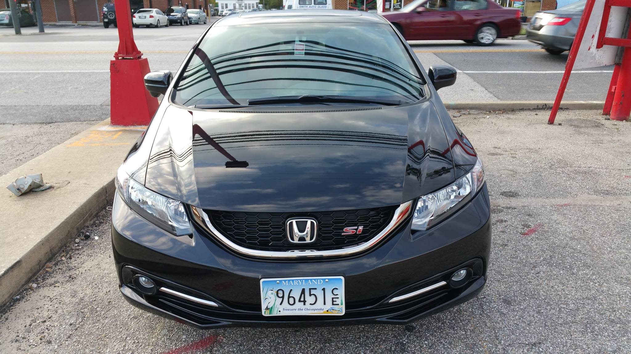 Honda Civic Si Paint Protection Hood Fenders Bumper Mirrors And