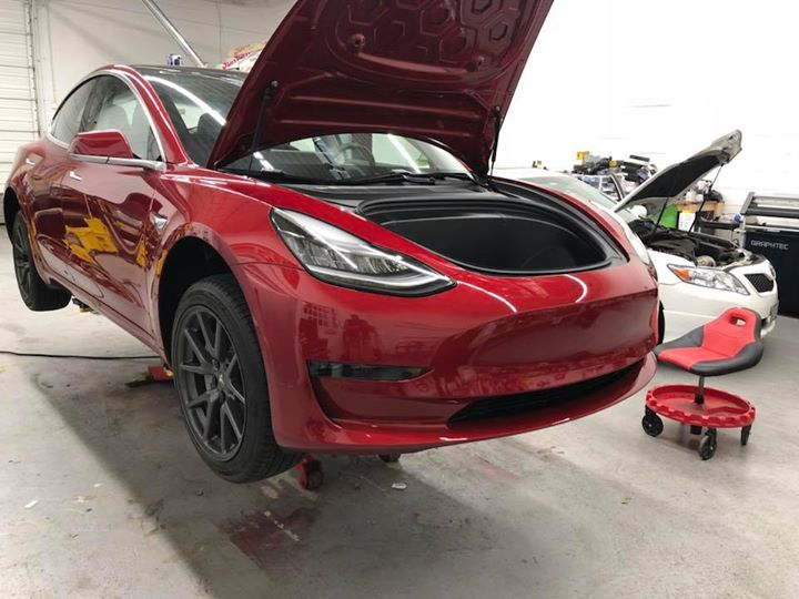 Tesla Model 3 Full 3m Scotchgard Pro Paint Protection Ultimate Package